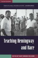 Cover image for Teaching Hemingway and race
