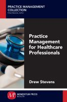 Cover image for Practice management for healthcare professionals