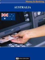 Cover image for Australia money & banking.