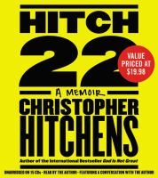 Cover image for Hitch-22 a memoir