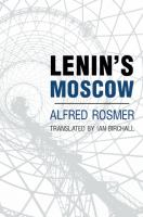Cover image for Lenin's Moscow