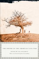 Cover image for The poetry of the American Civil War