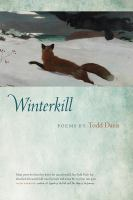 Cover image for Winterkill  poems