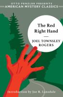 Cover image for The red right hand