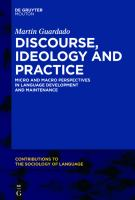 Cover image for Discourse, ideology and heritage language socialization  micro and macro perspectives