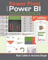 Cover image for Power Pivot and Power BI  the Excel user's guide to DAX Power Query, Power BI & Power Pivot in Excel 2010-2016