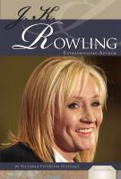 Cover image for J.K. Rowling : extraordinary author
