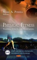 Cover image for Physical fitness training, effects, and maintaining