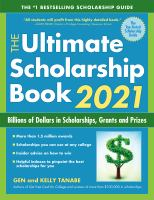 Cover image for The ultimate scholarship book 2021 : billions of dollars in scholarships, grants and prizes