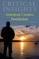 Cover image for American creative nonfiction