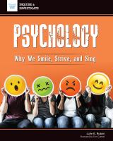 Cover image for Psychology : why we smile, strive, and sing