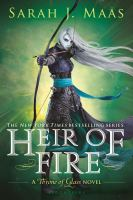 Cover image for Heir of fire Throne of Glass Series, Book 3.