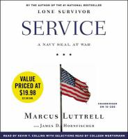 Cover image for Service a Navy SEAL at war