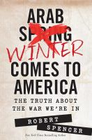 Cover image for Arab winter comes to America