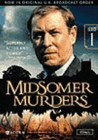 Cover image for Midsomer murders  Series 1