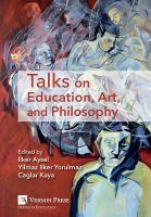 Cover image for Talks on education, art, and philosophy