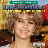 Cover image for Kate DiCamillo  Newbery Medal-winning author