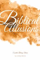 Cover image for Biblical allusions