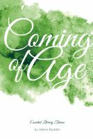 Cover image for Coming of age
