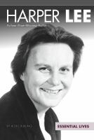 Cover image for Harper Lee  Pulitzer Prize-winning author