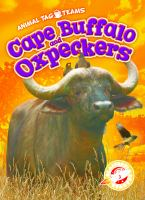 Cover image for Cape buffalo and oxpeckers