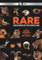 Cover image for Rare creatures of the photo ark
