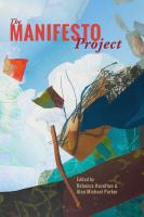 Cover image for The manifesto project
