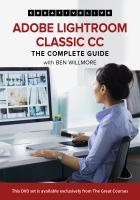 Imagen de portada para Adobe lightroom classic CC the complete guide