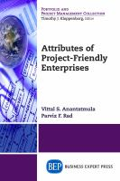 Cover image for Attributes of project-friendly enterprises