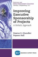 Cover image for Improving executive sponsorship of projects  a holistic approach