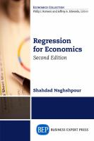 Cover image for Regression for economics