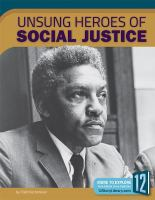 Cover image for Unsung heroes of social justice