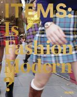 Cover image for ITEMS : is fashion modern?