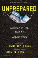 Cover image for Unprepared : America in the time of coronavirus