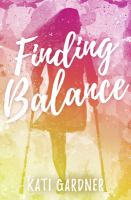 Cover image for Finding balance