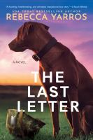 Cover image for The last letter [paperback]