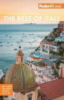 Cover image for The best of Italy