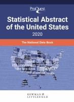 Cover image for ProQuest statistical abstract of the United States 2020.