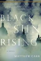 Cover image for Black sun rising