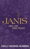 Cover image for Janis her life and music