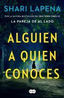 Cover image for Alguien a quien conoces