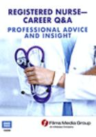 Cover image for Registered nurse professional advice and insight.