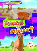 Cover image for Llama or alpaca?