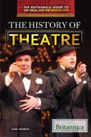 Cover image for The history of theatre