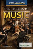Cover image for The history of music