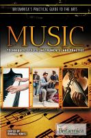 Cover image for Music  techniques, styles, instruments, and practice