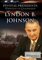 Cover image for Lyndon B. Johnson