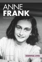 Cover image for Anne Frank  Holocaust Diarist