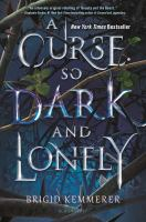 Cover image for A curse so dark and lonely
