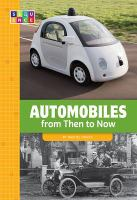 Cover image for Automobiles from then to now